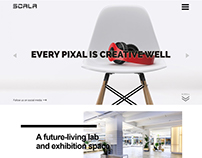 Creative Agency PSD design