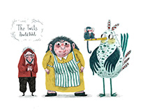 """The Twits"" character design"