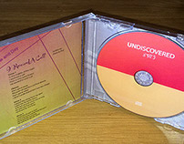 CD Jewel Case Design for Undiscovered, UK Band
