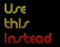 Newsense (Free Font)