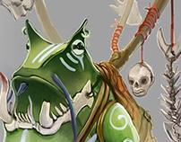 Frog Fantasy Character