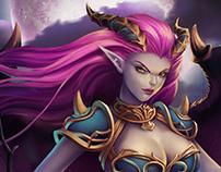 Heroes Reborn - Card game illustrations
