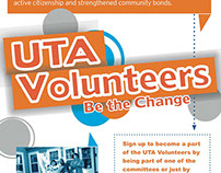 UTA Volunteers Poster