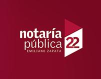 Brand Notaría Pública Nº22