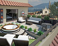 Penthouse in Florence