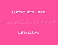 Curriculum Vitae Interactivo