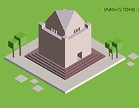 Isometric Monuments from Pakistan