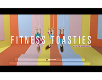 Fitness toasties / Julieta Casalia