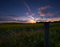 Central Alberta landscape