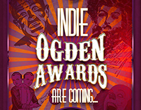 INDIE OGDEN AWARDS FLYER DESIGN