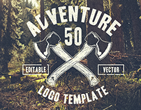 Retro Adventure Logo