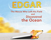 Edgar the mouse who left his field - book
