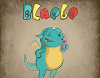 Bluebe Draco. Stickers&Postcards