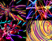Bright Lines - VJ Loop Pack (5in1)
