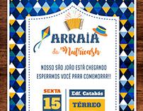 Convite digital - São João