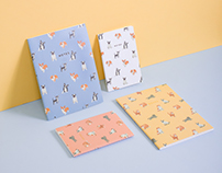 Illustrated Pattern Notebooks