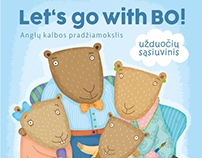 Activity book of English language for preschoolers.