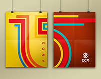CCR Group | 15 Years | Seal and Visual Identity