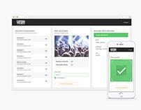 Ticket Platform Webshop & App