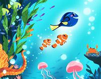 Finding Dory – delve commission