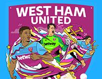 West Ham Utd Stickers