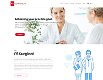 F5surgical.com Website Design