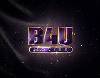 B4U Movies Ident Channel Rebrand Pitch