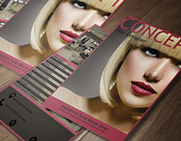 Concept Hair Designer El İlanı Tasarımı