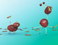 3 x Telenor Chestnuts