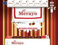 WEB: Pastelería Merayo