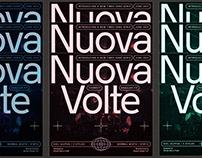 Nuova Volte Typeface