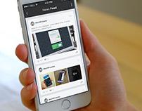App Design - News Feed Screen