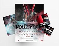 Liberty University 2016-2017 Volleyball Branding