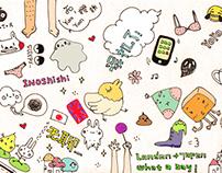 Japan trip (visual diary)