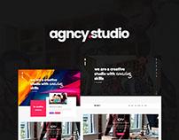 Agncy - Creative Studio PSD Template