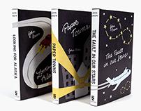 John Green Book Cover Redesigns