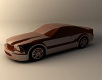 3D Model - Ford Mustang Tuning