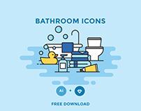 FREE - BATHROOM ICONS