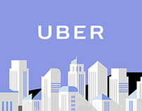 Uber Landing Page Concept