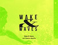 Wake&Waves identity