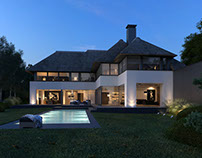 Project villa Boslaan Knokke