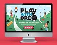 Play with Oreo Facebook App/Game