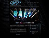 AE Productions Logo and Website