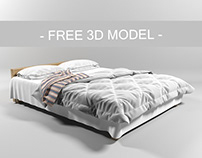 Bed Free 3D Model Download