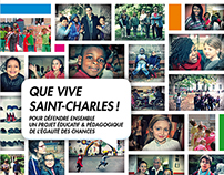 Que vive Saint Charles -  Brochure - May 2015