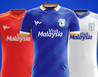 Cardiff City Concept Kits