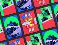 DMD x EL aurora party 01-03 概念紀念海報。