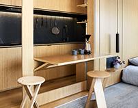 Interior - 35m2 apartment