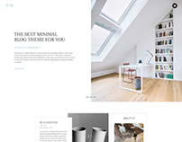 Yes Blog - Minimal Blog Design