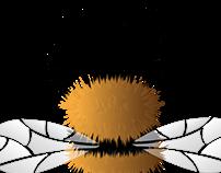Fuzzy Bee tutorial